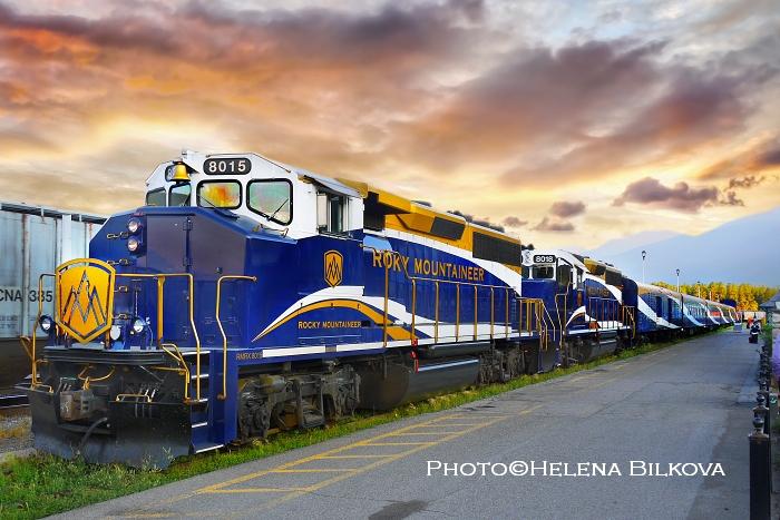 #Welcome aboard the iconicRocky Mountaineer - Canadian Rockies #Train. #Explore amazing Jasper, Banff and Yoho National Parks. #Travel #Alberta and #BritishColumbia by train. #CanadianRockies #Canada #exploretheworld #explorealberta #traveltips #Railways #NationalParkspic.twitter.com/bmvaGVHeOh