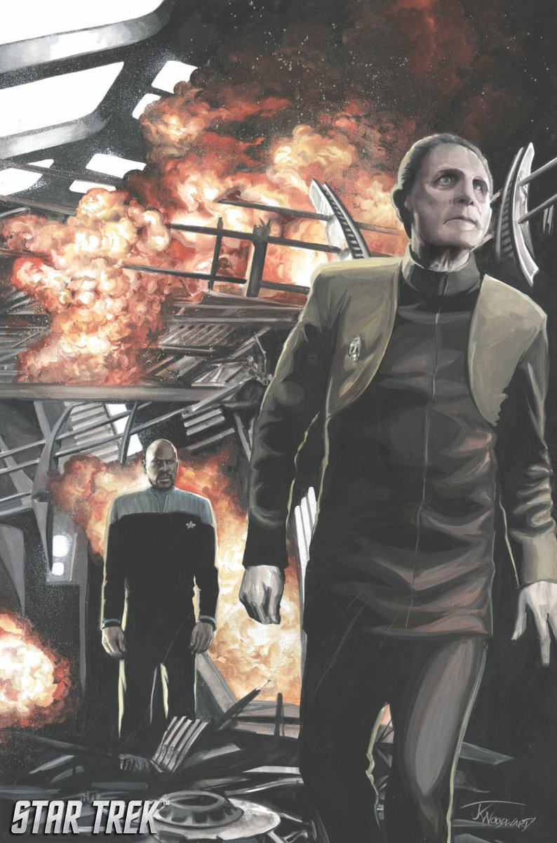 Justice reigns in April when @IDWPublishing debuts a noir tale of Constable Odo in the four-part STAR TREK: DEEP SPACE NINE - TOO LONG A SACRIFICE comic book series ✨ #StarTrek