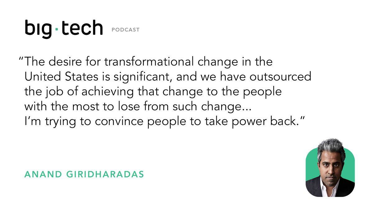 Anand Giridharadas on How Taxes — Not Philanthropy — Will Change the World | Centre for International Governance Innovation