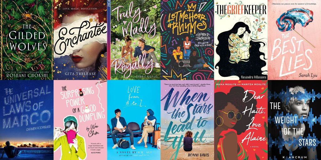 Heres a list of 50+ YA Books from 2019 by authors of color you may have missed! 📚✨ bit.ly/364elSb #OwnVoices @simonteen @InkyardPress @ireadya @harperteen @PenguinTeen @SwoonReads
