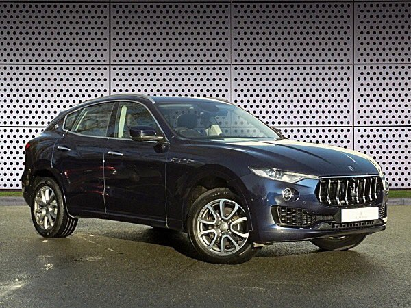 #CarOfTheWeek - This special 2016 Maserati Levante is currently available immediately and seeking a new owner.  This automatic 3.0 Litre Diesel is finished in Blu Passione with Marrone Fine Grain Leather Interior.   For more information please contact 01784 436431 #Maseratipic.twitter.com/3Aj3NUnJ0F