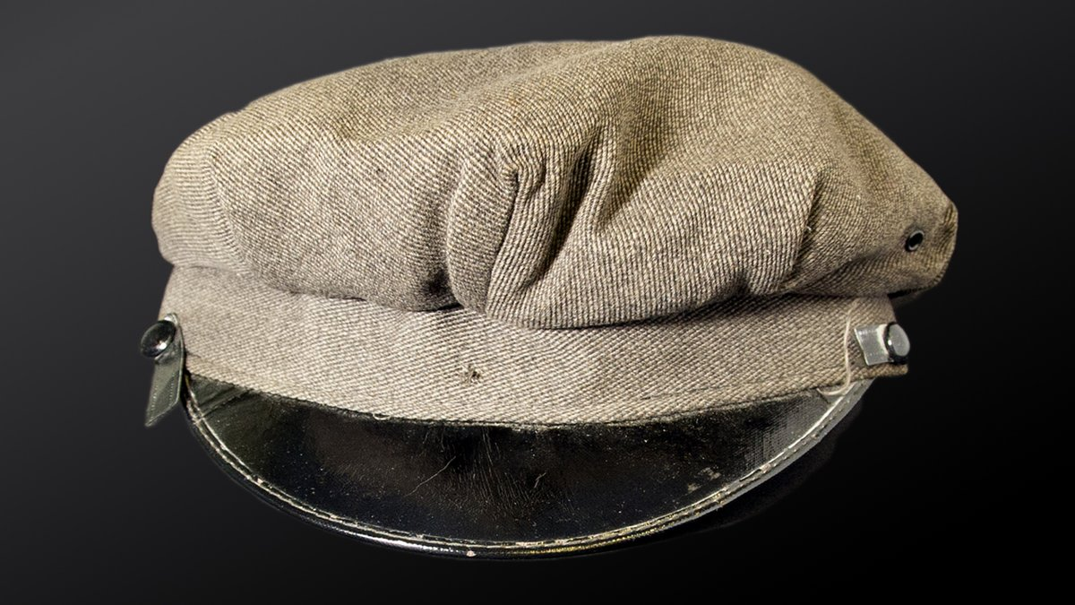 The #FBI's January #ArtifactoftheMonth is a cap left at the scene of a so-called perfect crime: #OTD in 1950, armed men stole $2.7 million in cash, checks, money orders, and other securities from a Brink's in Boston and fled. Read about the case at ow.ly/kigL50xY7Lf.