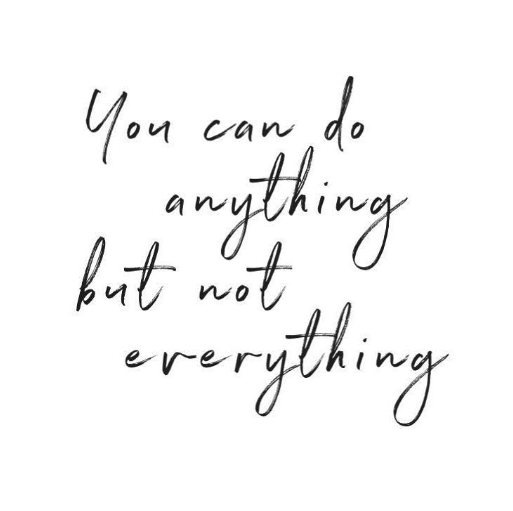 It's important to realize that you can literally do ANYTHING you set your mind to, but at the same time you must also realize something even more important: you cannot do EVERYTHING.   #positivity #positiveaffirmations #mantra #meditation #mindfulness #happiness #quotepic.twitter.com/iTXt5Ow7D1