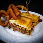Image for the Tweet beginning: Our Short Rib Grilled Cheese