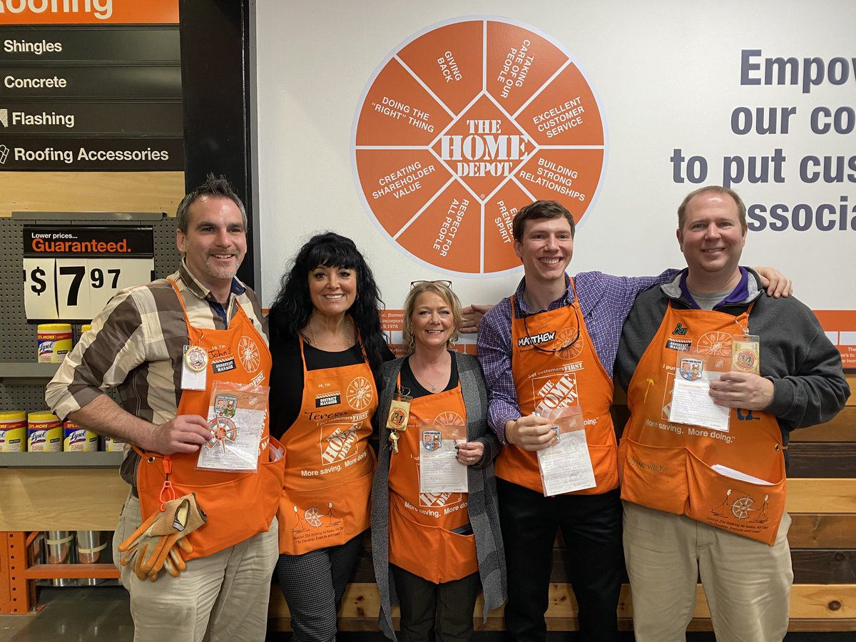 The Home Depot 1777 On Twitter Recognizing Trent Tyrone John Tracy Matthew Ben For Customer Service Safety From The District Leadership Team Mightymidsouth Ttchapman13 Amackerhdhr Mkbhd Giddens Mark Schwagertom Https T Co