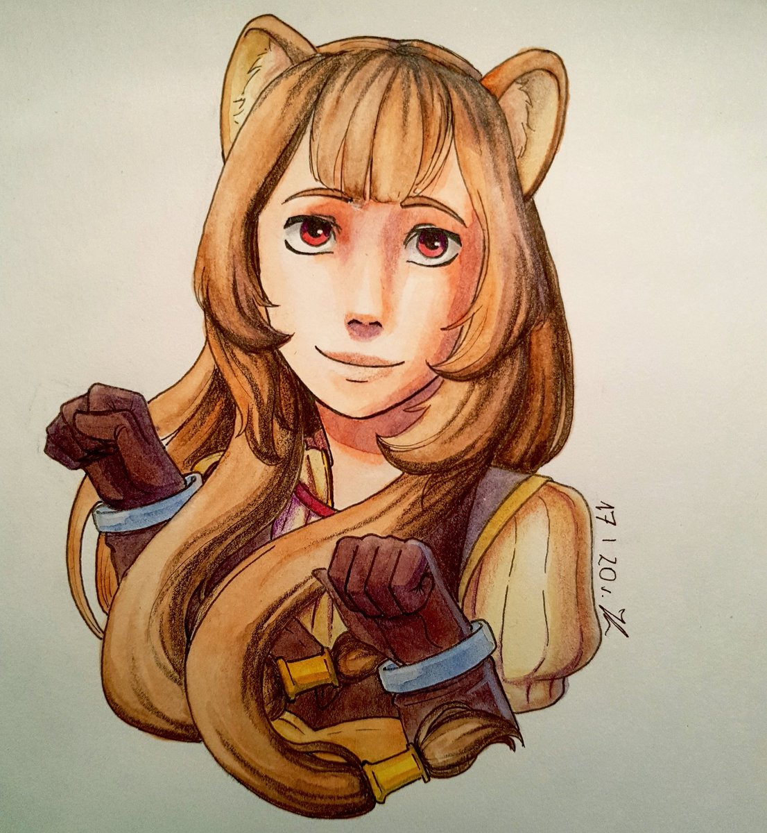 Small fanart of Raphtalia. I really love Tate no Yuusha no Nariagari, I can't wait for season 2 <3  #fanart #animefanart #raphtalia #risingoftheshieldhero #tatenoyuusha #anime #drawing #traditionalart #animegirl #isekai #animeartwork #drawinganime #cute #kawaii #otaku #drawpic.twitter.com/2AYqKuSCjx