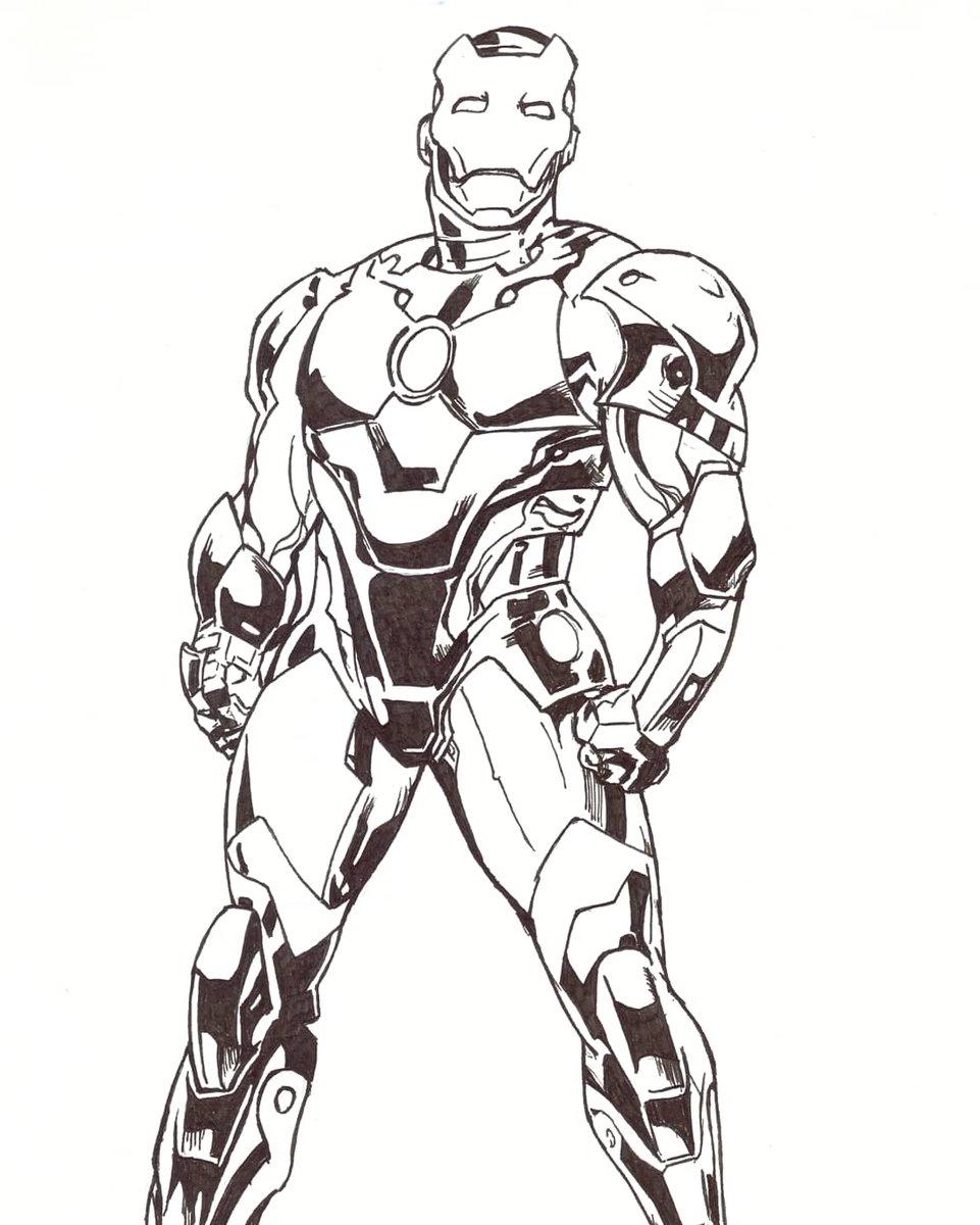Old work :  Iron Man (from ref) Hope you enjoy !  #fanart #sketchbook #drawingoftheday #doodle #sketch #drawing #art #artist #artwork #artoftheday #traditionalart #comics #MARVEL #marvelcomics #comicart #IronMan #inkpic.twitter.com/Ct3sA0Yn4I