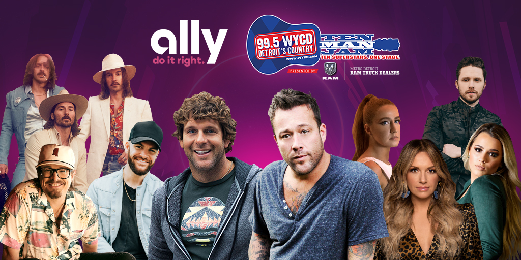 Join us at Snethkamp CDJR on Telegraph Road in Redford TODAY from 5-6p for your chance to win tickets to Ten Man Jam, presented by Metro Detroit RAM Truck Dealers! Well have 12 more pairs to give away courtesy of Ally! wycd.radio.com/events/snethka… @allyfinancial #ad