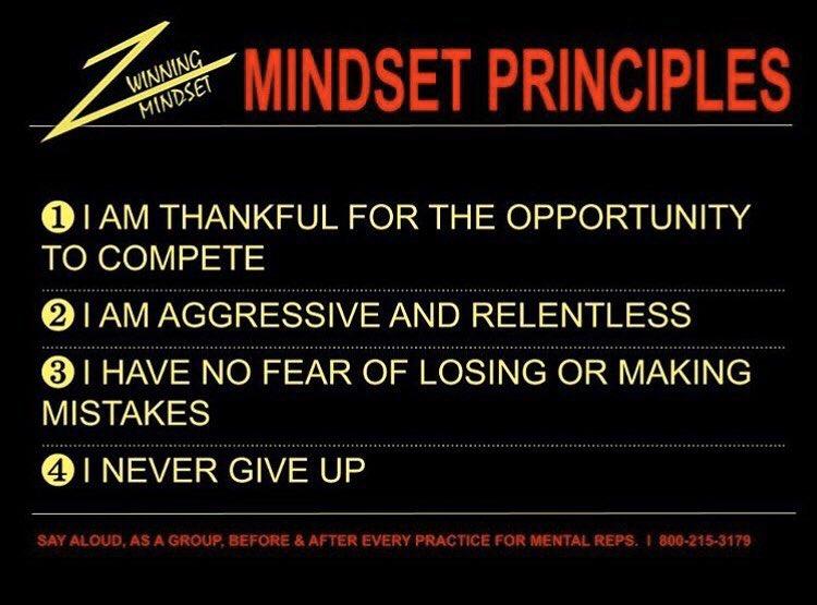 Say daily! #mindsetmakesthedifference #trackandfield
