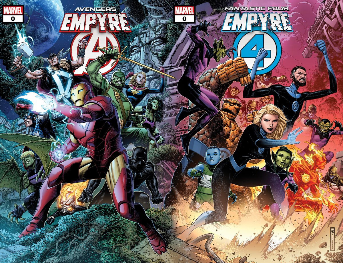Two all-new 'Empyre' #0 issues kick off an epic event! 💥: bit.ly/361n3ka