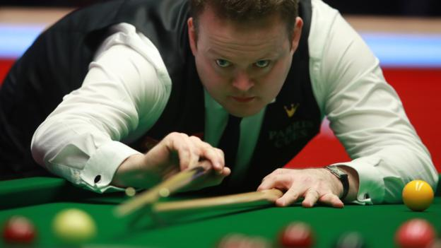 It's a quick channel hop to @BBCTwo for continued coverage of the Masters Snooker semi-finals - you can also follow it on the move on the @BBCSport website here ➡https://bbc.in/35yhSb1 #bbcsnooker