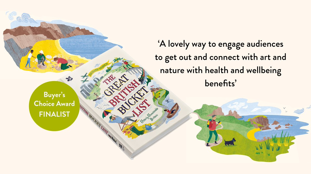🍾Very excited to announce that The Great British Bucket List, published in collaboration with @NTBooks, is a #Finalist in @ACEnterprises Awards 2020! 🍾  For some unmissable #adventures to get you out of the house this #weekend, head over to https://bit.ly/361Dqx3