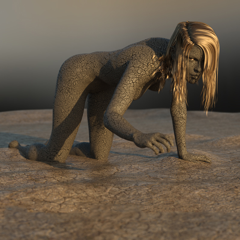 FREESTUFF Pick of the Week: Dry Mud material preset for Bodypaint G8F by DireWorks Learn more >>  http:// ow.ly/P8nt50xXzeD    <br>http://pic.twitter.com/FVKvIGbaKq