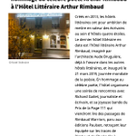 Image for the Tweet beginning: #revuedepresse : les #HôtelsLittéraires au