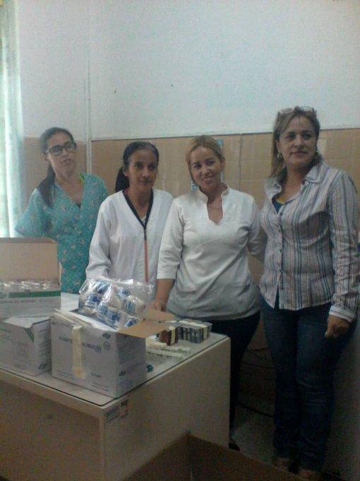 #GestiónSemanalTrujillo || Entrega de medicamentos al Consultorio Médico Popular Los Bambúes, perteneciente al @ASICVALERA1pic.twitter.com/y2jKbY04YS