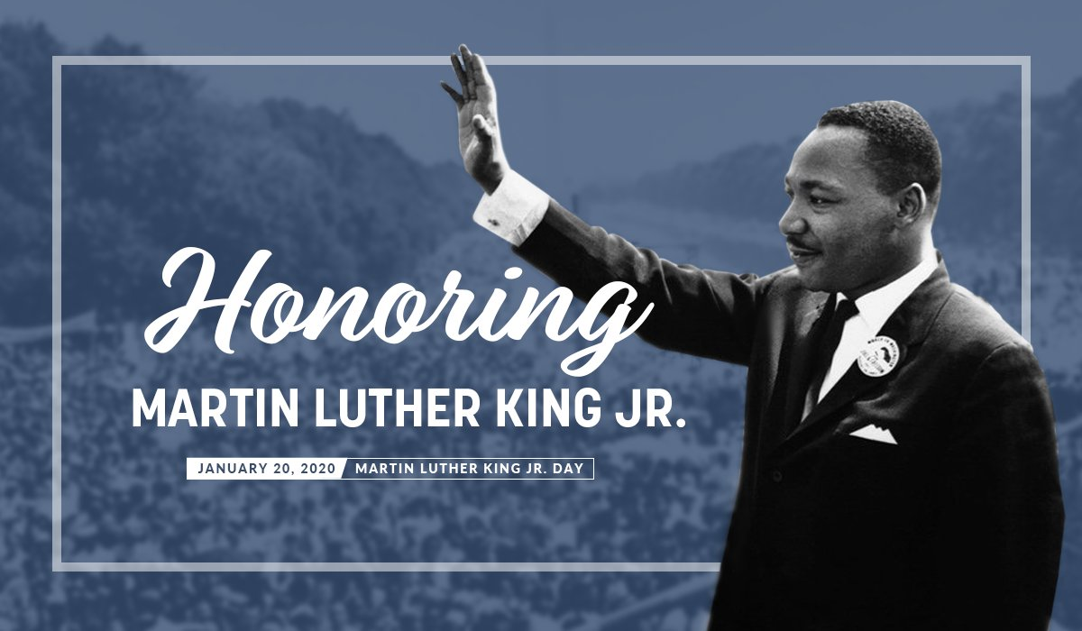 Today we celebrate the remarkable life of Dr. Martin Luther King Jr. May we honor his legacy by striving to spread hope and seek justice wherever we go. #MLKDay