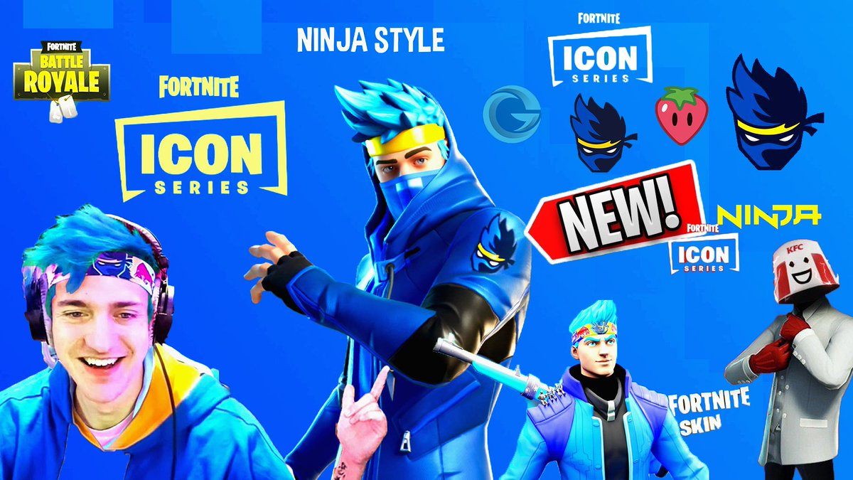 Check out the new Fortnite Icon series #ninja #epic #ninjaskin #epicgames #fortnite #fortniteclips #fortnitebattleroyale #fortnitecommunity #fortnitegameplay #fortniteleaks #fortnitenews #fortnitenew #fortnitenewskins #fortnitenewskin #fortnitenewshop #fortniteskins #fortniteskin pic.twitter.com/fvmSPPZLRb