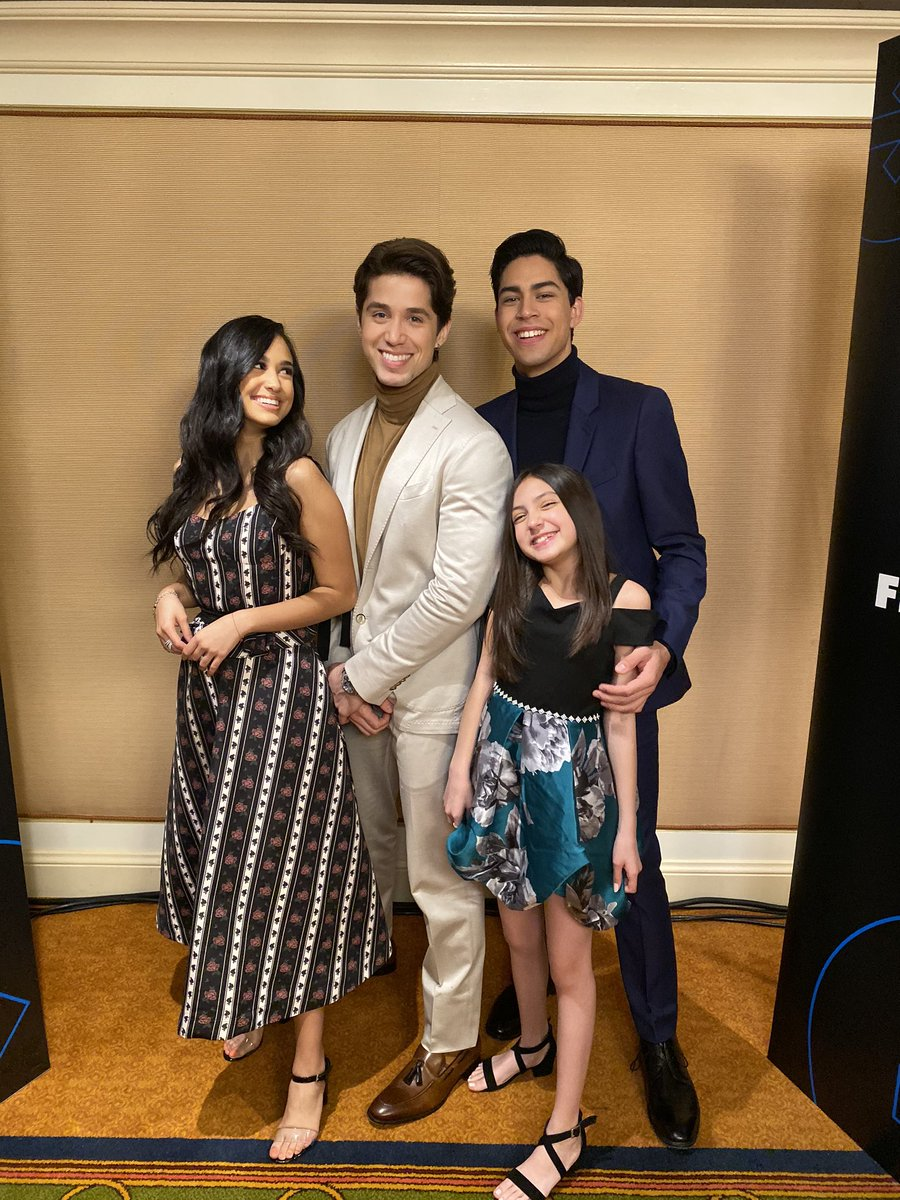 The @PartyofFiveTV family has landed at #TCA20! #PartyOfFive
