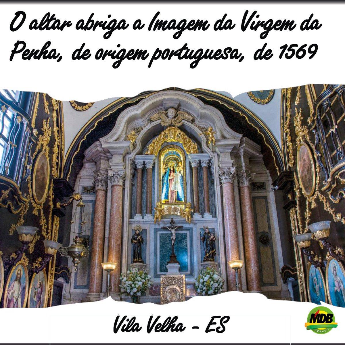 O #ConventodaPenha aparece na lista de monumentos mais visitados, junto do Cristo Redentor - RJ e do santuário de Aparecida do Norte - SP, e recebe mais de 2 milhões de visitantes. #descubraoes #descubraoespiritosanto #museu #cultura @sen_luizpastorepic.twitter.com/2L3kUkXUE7