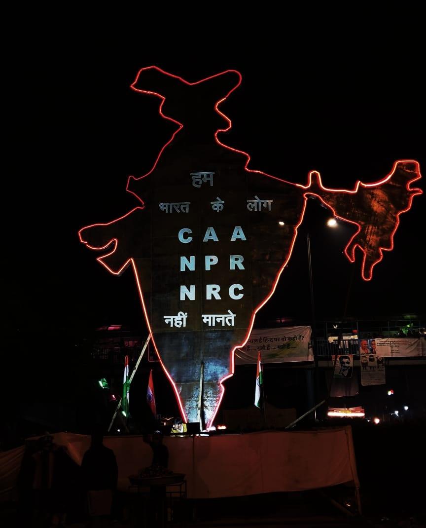 #ShaheenBaghTruth #ShaheenBaghStories #ShaheenBaghProtests #ShaheenBaug #ShaheenBagh #NDTVTopStories #NDTV #bbc #aajtak #pmoindia #PMO #BJP Na Gandhi, Na Bhagat, Na Bose,Na Azad, Na Ashfaq dekha hai...Maine jung-e-azaadi nahi dekhi ..par Shaheen Baug dekha hai..Him Dekhenge..🤗 – at Bus Stop Shaheen Bagh