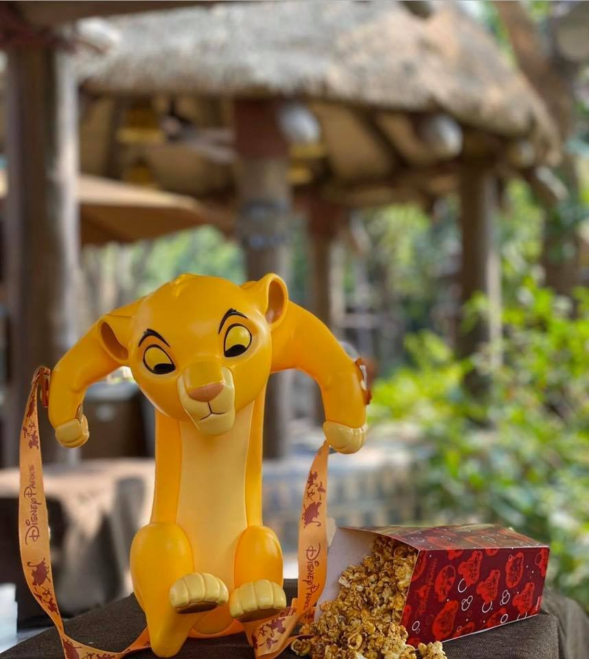 #TheLionKing Young Simba popcorn bucket, apparently now appearing at Hong Kong Disneyland. Bring it over to the domestic parks, Disney! <br>http://pic.twitter.com/fH5yyUjxSl