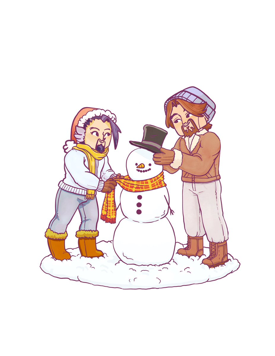 More #mchanzo #art. Kinda late to the Christmas scene  should I make them stickers? <br>http://pic.twitter.com/CPpXuXI035