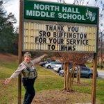 Image for the Tweet beginning: Thank you SRO Anita Buffington.