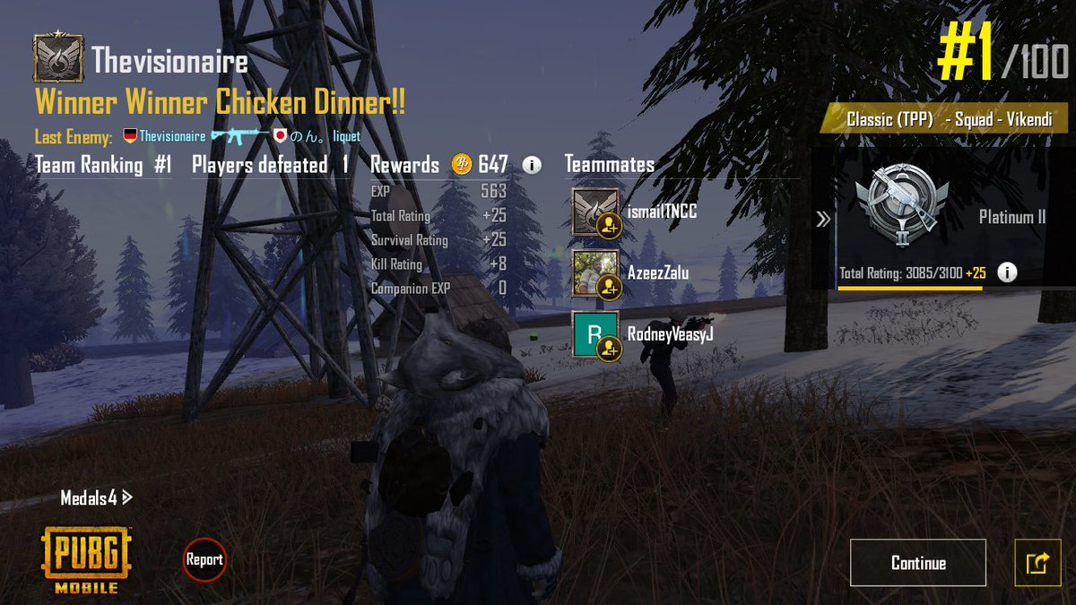 People invite me to their teams, I really appreciate it, thank you for the support http://twitch.tv/thevisionaire1 Follow me if you dare!#PUBG_MOBILE #pubg #PUBGMOBILE  #PUBGclips #gamers #fun #Twitch #ThisIsBattleRoyale #gamergirl #PUBG履歴書 #PUBG募集 #PUBGモバイル #pubglatino pic.twitter.com/n9tJobB8gO
