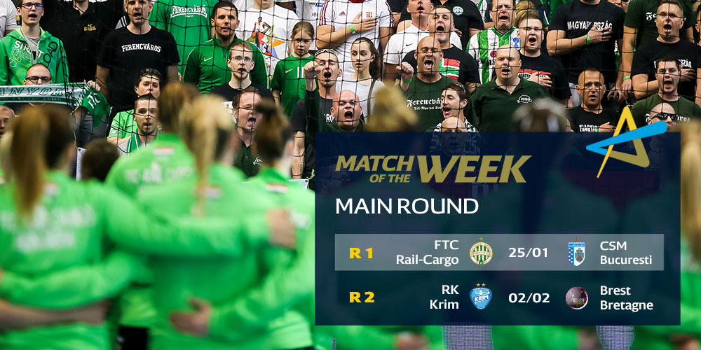 WHO IS READY? The DELO WOMEN'S EHF Champions League MOTW is back! Anja Althaus will bring you behind the scenes at:  ⚡️ Round 1: @Fradi_HU vs. @csm_bucharest ⚡️ Round 2: @RKKrim vs. @BBH_Officiel #ehfcl #deloehfcl