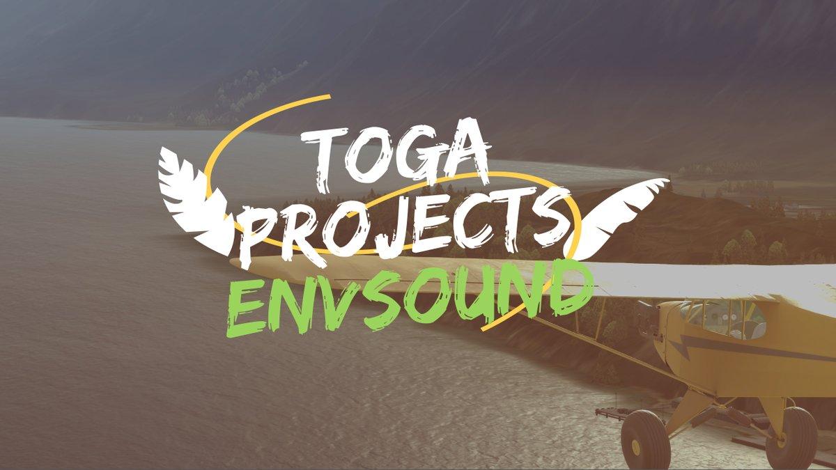 http://simFlight.DE: Review: TOGA Projects - ENVSOUND -  Mit etwas Spannung angekündigt, hat TOGA Projects Anfang Januar ihr neustes Produkt Veröffentlicht – ENVSOUND. Die bislang auf T... - http://bit.ly/3algvjCpic.twitter.com/GnvEsWnyhK