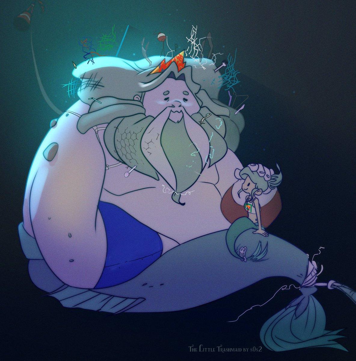 Trashdad™  #thelittletrashmaid #trashmaid #trashdad #mermaid #merman #savetheplanet <br>http://pic.twitter.com/Vw0F34Y6Yf
