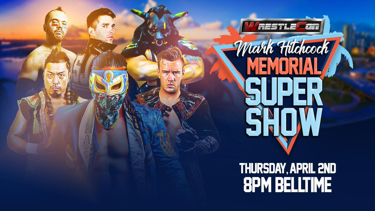 So to summarize the first week of talent announcements for the Supershow, start with these six wrestlers and let your dream match ideas run wild! Tickets on sale now at wrestlecon.com