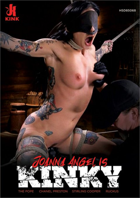 """Guess who made the cover of an @XBIZ award winning DVD for """"Fetish Release of the Year""""?? @JoannaAngel"""