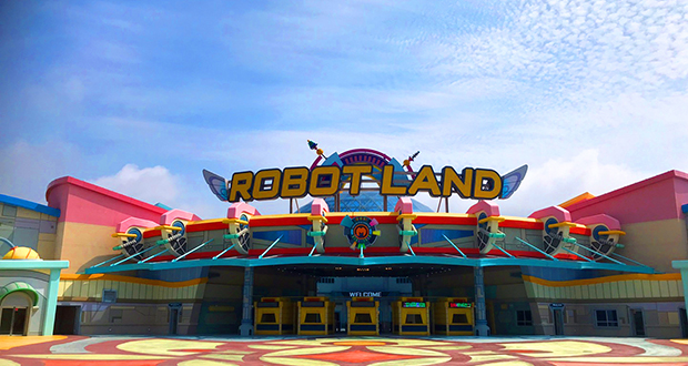 Gyeongnam Masan Robot Land, the first theme park about intelligent robotics, has spared no effort with its AV experiences, installing Christie laser projectors and image processing solutions.  http://ow.ly/Eolz50xXMzA #AudioVisual #AVsolutions #LaserProjectorpic.twitter.com/D7GJCuJxSr