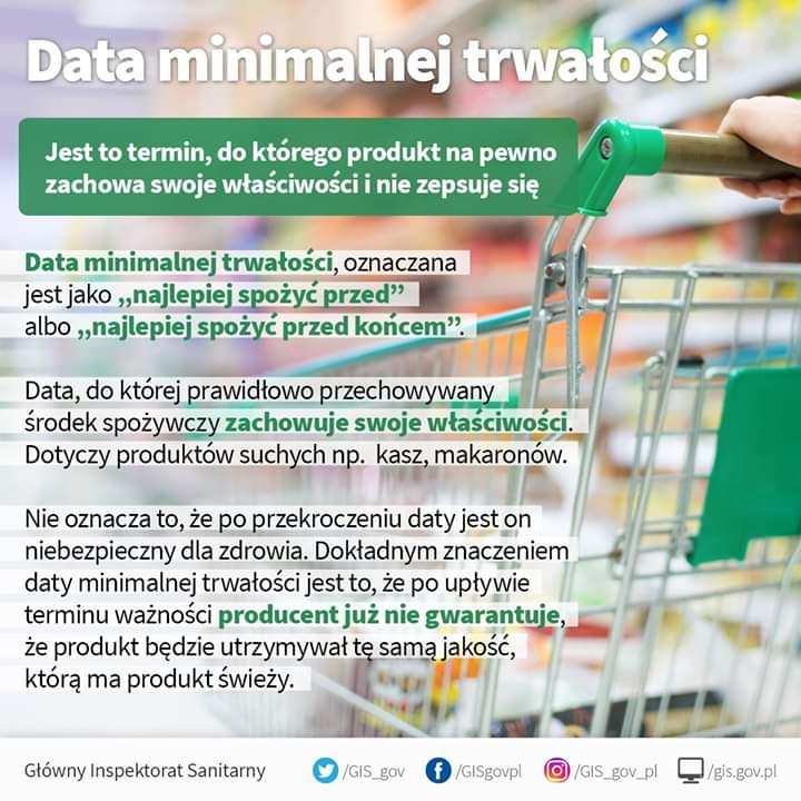 Czytanie etykiet jest niezwykle ważne dla zachowania zdrowia Co oznacza termin: Data minimalnej trwałości  Źródło: Narodowe Centrum Edukacji Żywieniowej #etykieta #czytamy #zdrowie #produkt #datapic.twitter.com/FqU7Rnnyx2
