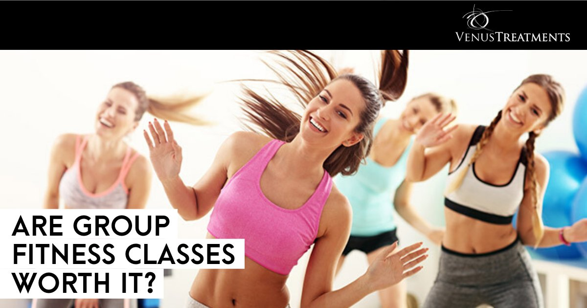 Strength in numbers may be the best way to achieve your New Year's resolution! Discover the benefits of group fitness classes beyond the cost savings: http://bit.ly/FitnessClassinGroups… #VenusBeauty #WeightLoss #FitnessTips pic.twitter.com/J1chvWtvLE