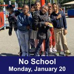 Image for the Tweet beginning: Reminder: There is no school