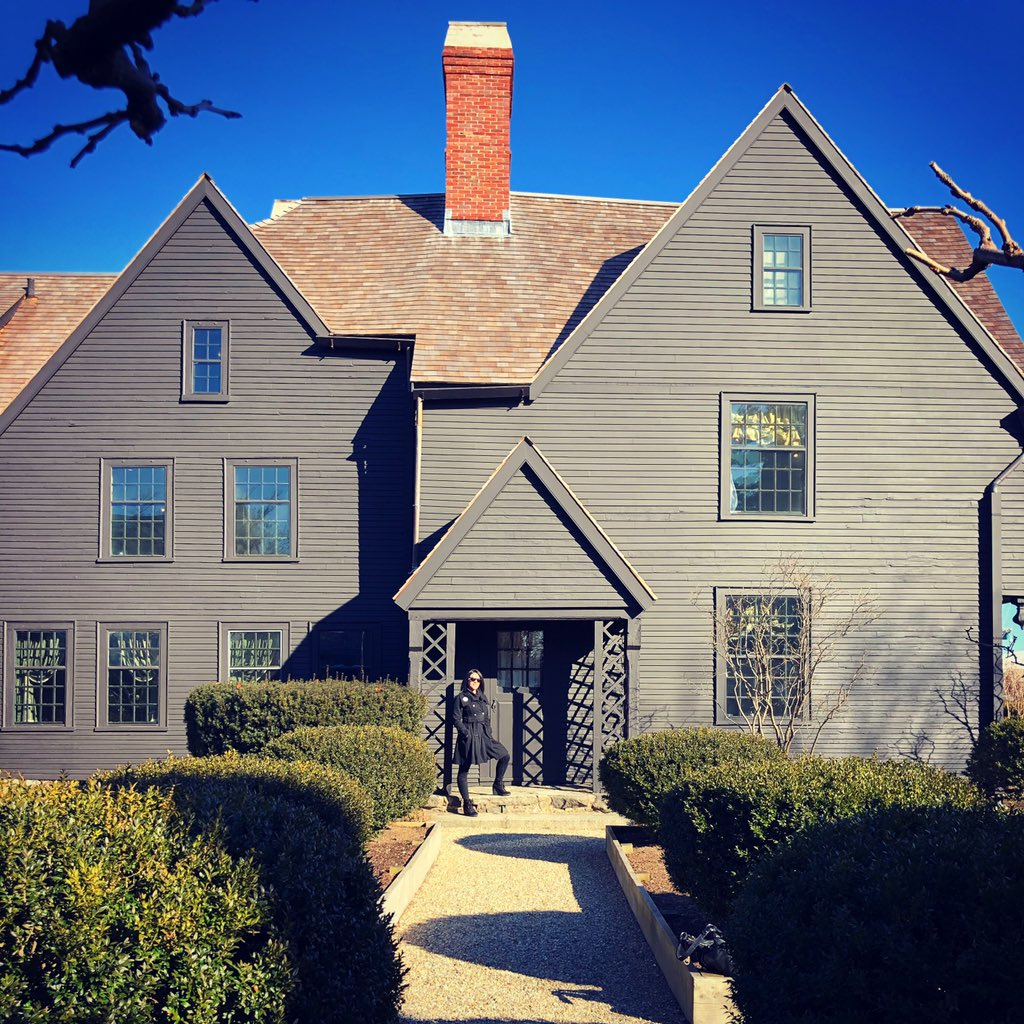 The House of the Seven Gables in Salem #haunted #Salem #Massachusetts #AdventureTime #explorepagepic.twitter.com/DIXm9Pne9Q – at The House of the Seven Gables