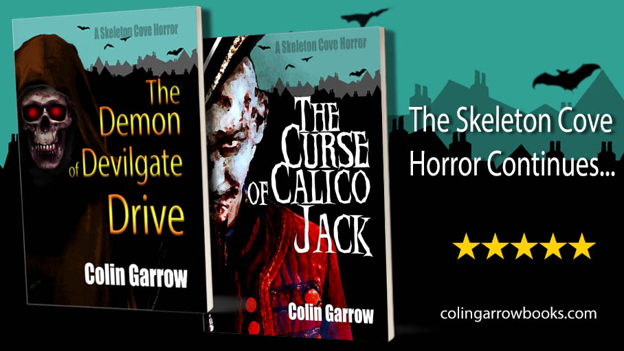 Catch up with this scary series now! 'Murder, demons and ghostly pirates on the loose…' #horror for #kids https://geni.us/4AO4rf  #IARTG #SkeletonCovepic.twitter.com/E0PawFMf2p