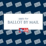 You may apply for a #BallotByMail today ✉️! You can find the application and eligibility information here: https://t.co/BSysN26B9q 📬
