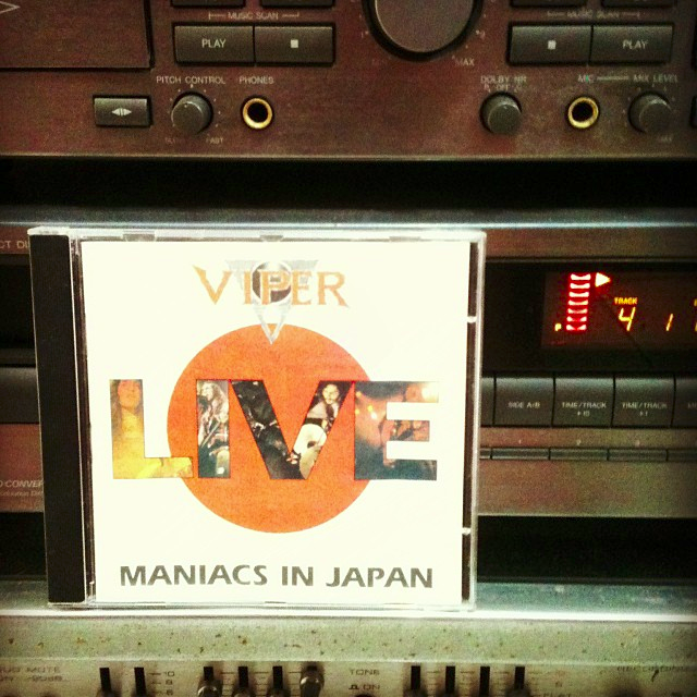 17 de janeiro de 2018 ·  Maniacs In Japan #CD #cdcollection #viperpic.twitter.com/HmJhNrqXrK