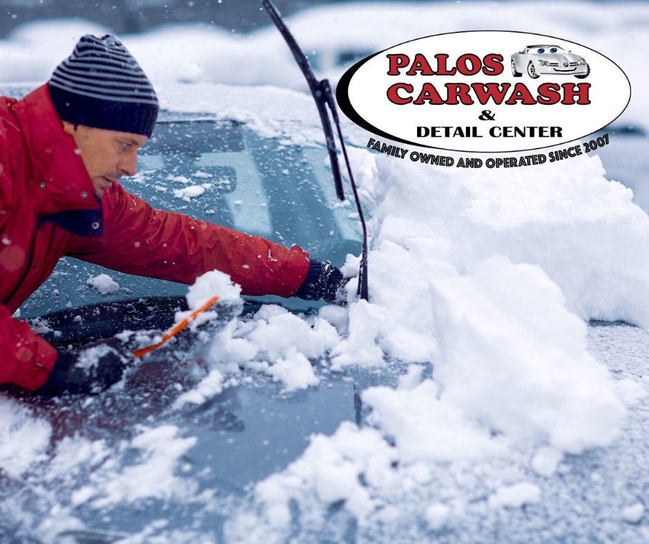 Who is ready for this? How many inches of snow do you think we'll get? Guess in the comment box below!  #Paloscarwash #monthlyplan #unlimted #carwash #detailing #cardetailing #carcare #autodetailing #Route83 #Ridgelandpic.twitter.com/rKtgXMKN4H