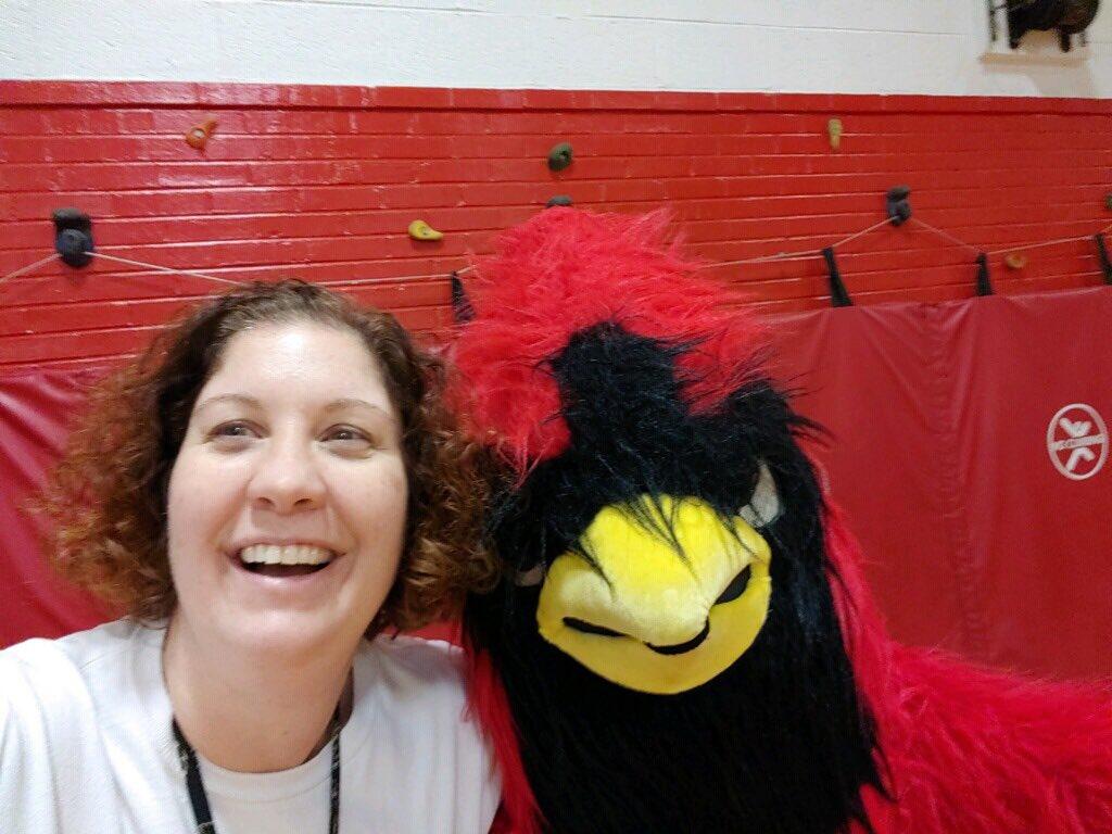 Cardinal is here!! @Bridgetbaill