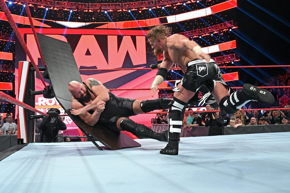 Last week's #Raw was intense, to say the least. Get another dose of body slams tonight at 8/7c on USA Network.