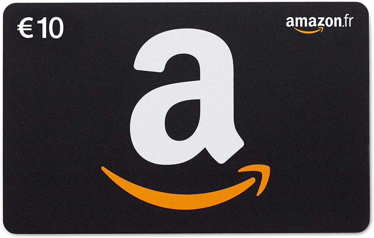 Premier cadeau on commence en douceur car on est pas riche :(  Premier cadeau : Carte Amazon 10€ resultats le vendredi 24 janvier !pic.twitter.com/j98sOMUhmZ