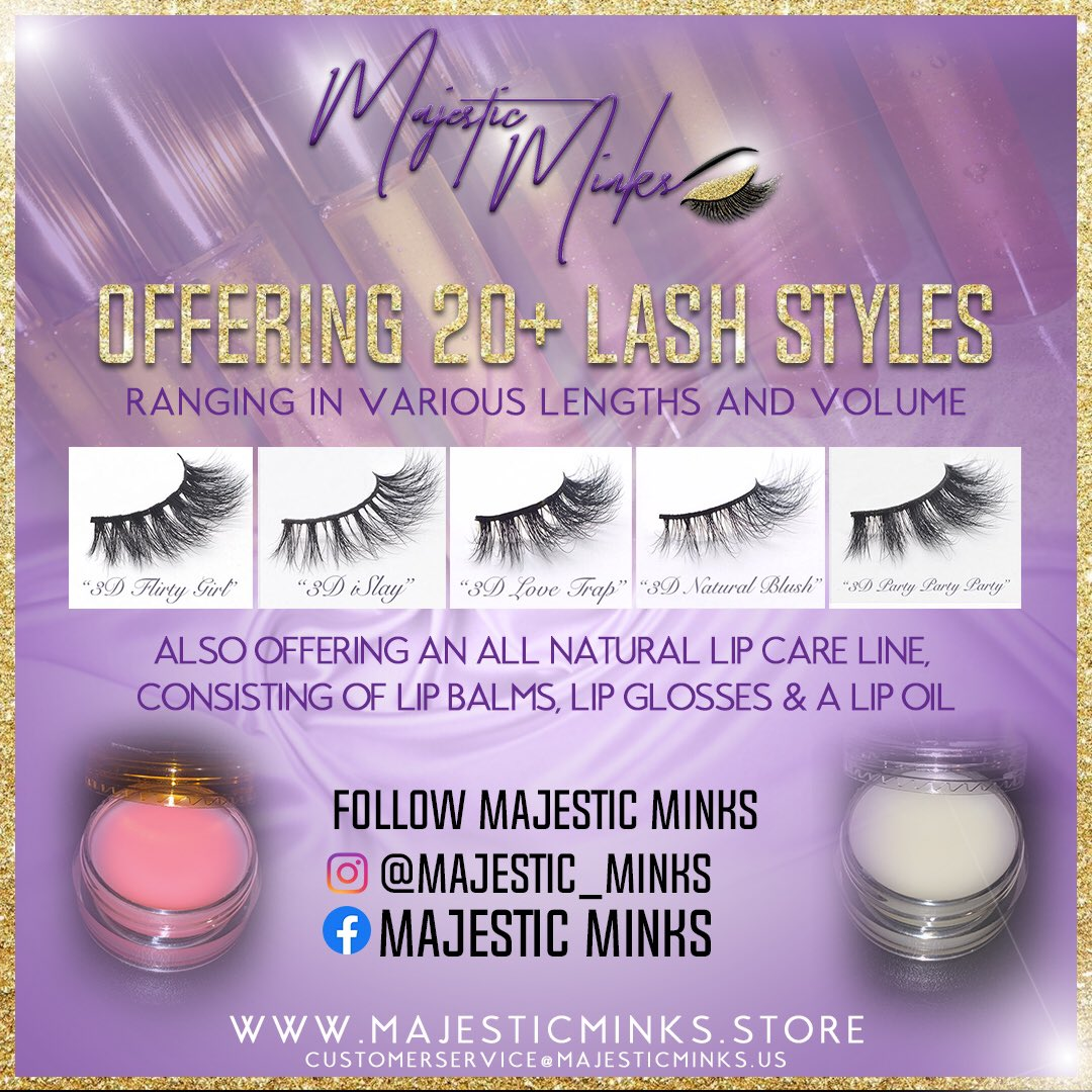 Shop the Majestic Way 🧞♀️ () PayPal and Cash App Accepted✨ PLEASE DM ME FOR CASH APP ORDERS🗣🛍😎 #Lashes #Minks #Lipgloss #LipBalm #LipOil #AllNatural #SmallBusiness #BigDreams