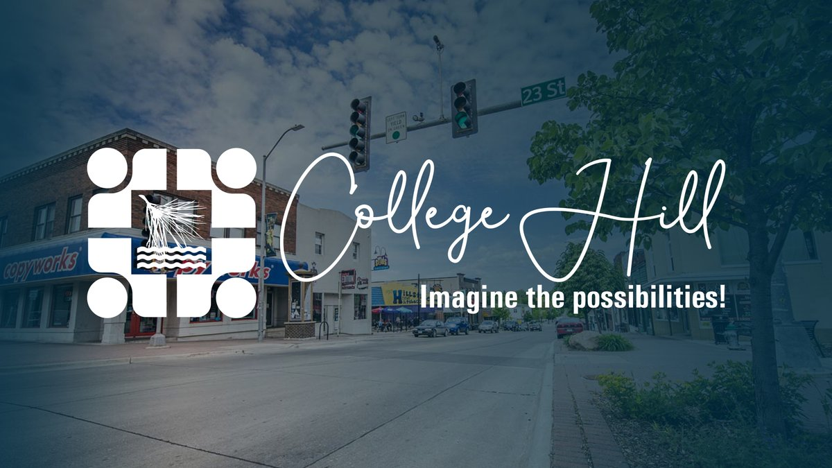 We want YOU to help plan for the future of the @TheHill_CF area with #ImagineCollegeHill! Join us for the Public Kick-Off Workshop on January 29, 6 - 8 PM, at UNI CEEE to share your suggestions and feedback. Learn more at http://ourcedarfalls.com! #CedarFalls