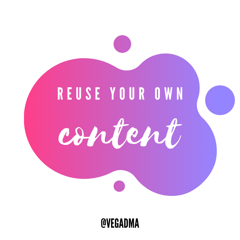 Reuse your own content! Have you ever heard of re-runs on TV? Well, you have your own reruns, and if your message is on-brand, you could reuse your content indefinitely. .⁠ .⁠ #motivation  #growth #marketing #smma #digitalmediaagency #growthhacking #garyvee #vaynernationpic.twitter.com/tTmnZVUjKY