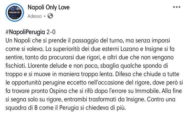 #NapoliPerugia 2-0 #Insigne Analisi e voti https://t.co/SxlrnmvhlX