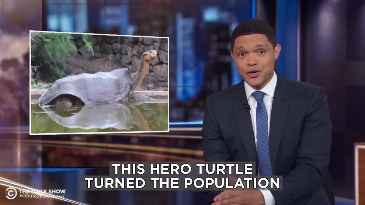 Diego the giant tortoise f*cked his way back from extinction.